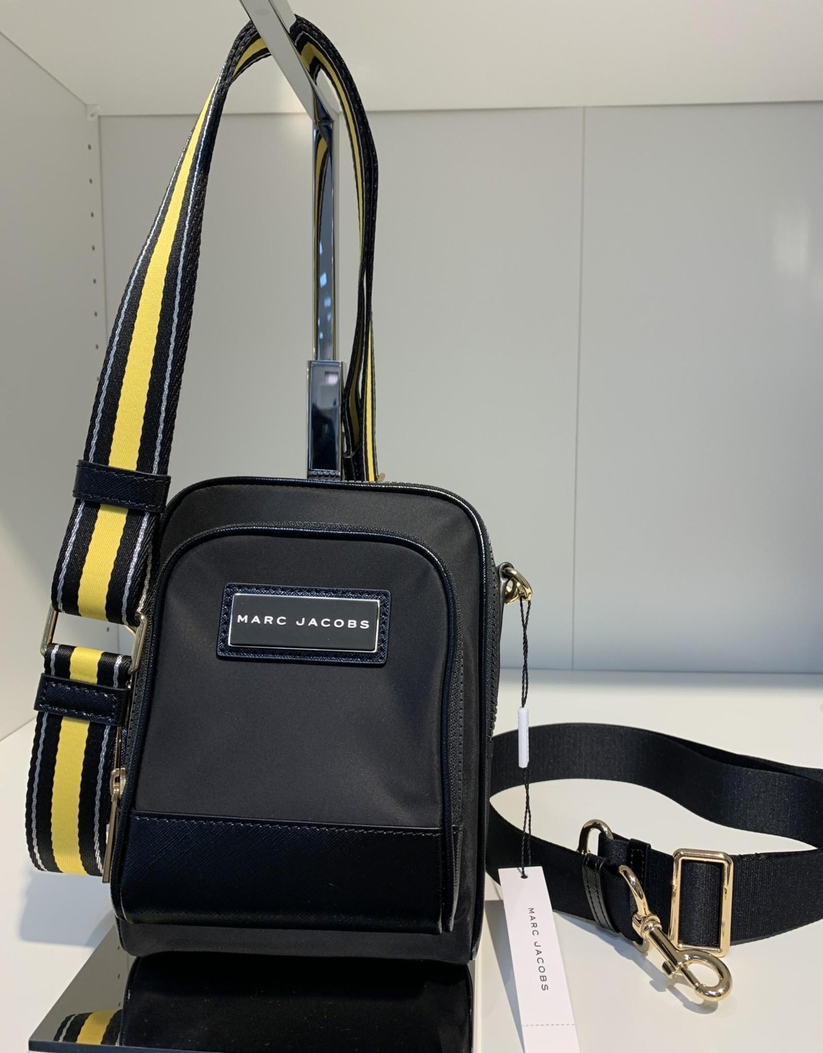 Marc Jacobs Marc Jacobs Mini Crossbody Nylon w/ 2 Compartments + Webbing Strap