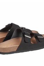 Skechers Skechers Two-Strap Sandal Adjustable Metal Buckles Luxe Foam Cushioned Comfort Sole