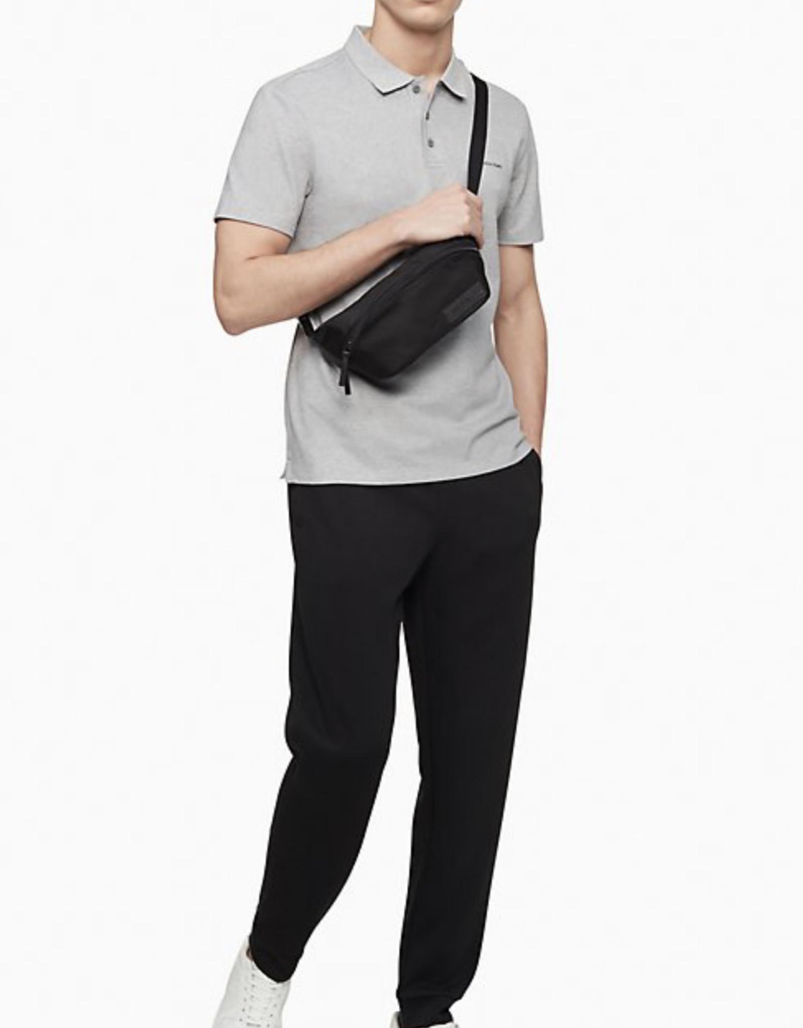 Calvin Klein Calvin Klein Ballistic Nylon Belt Bag Adjustable Strap 2-Way Zip Closure, Logo Patch & Fully Lined Interior