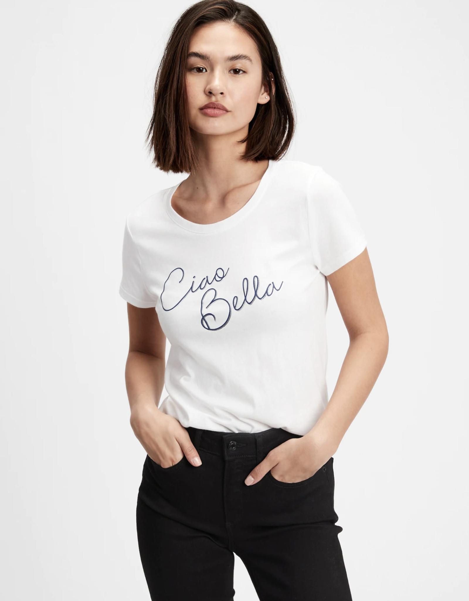 Gap Gap Fav Graphic Shirt Ciao Bella