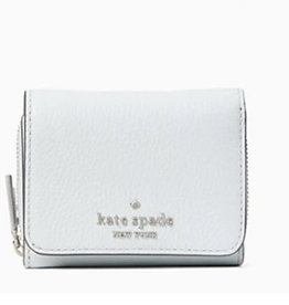 Kate Spade Kate Spade Leila Pebbled Small Trifold Continental Wallet