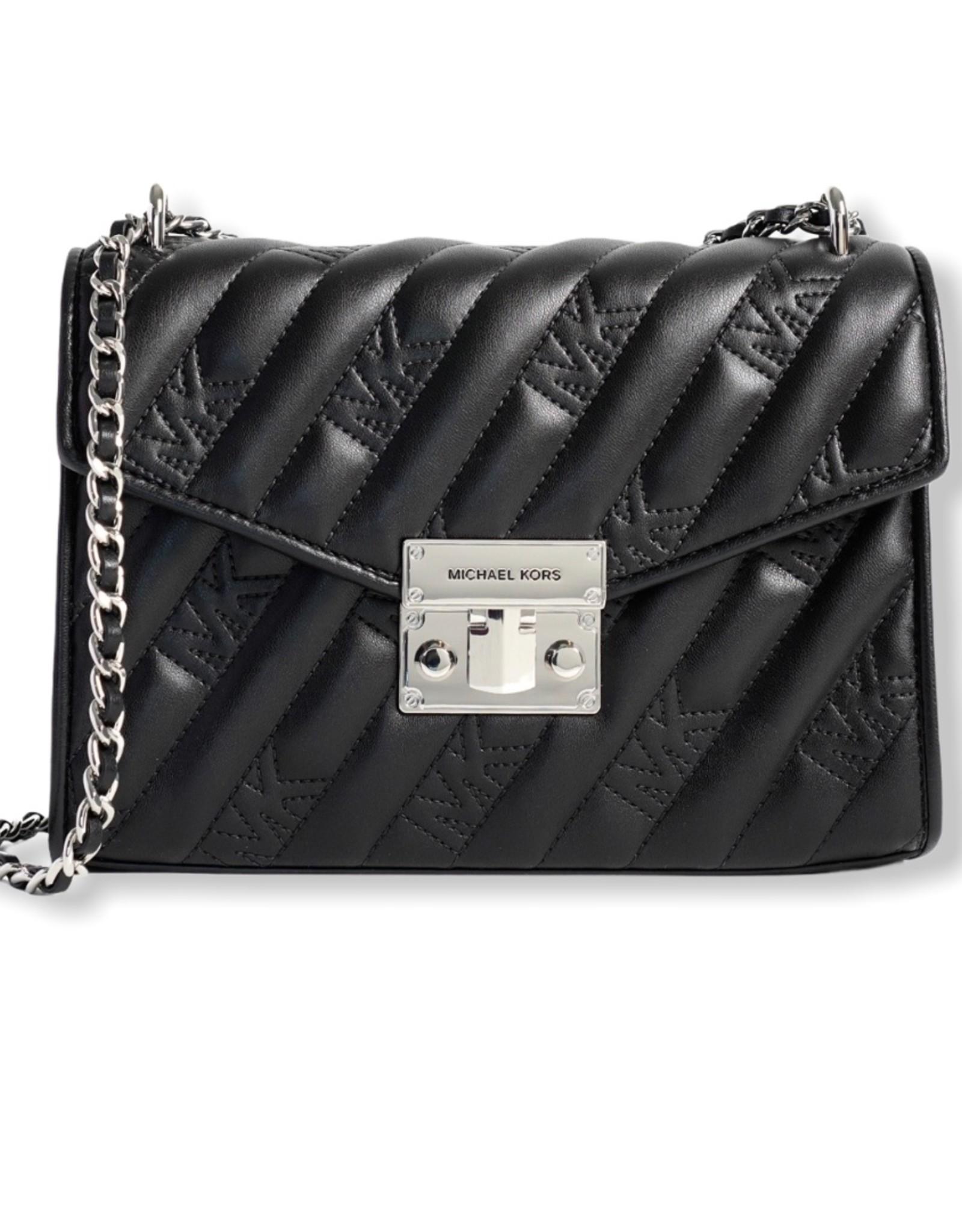 Michael Kors Michael Kors Shoulder Bag Medium Flap Quilt w/ Logo Rose