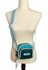 Lacoste Lacoste Double Zip Crossbody Bag 100% Polyamide