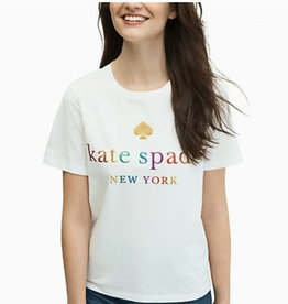 Kate Spade Kate Spade Rainbow Tee
