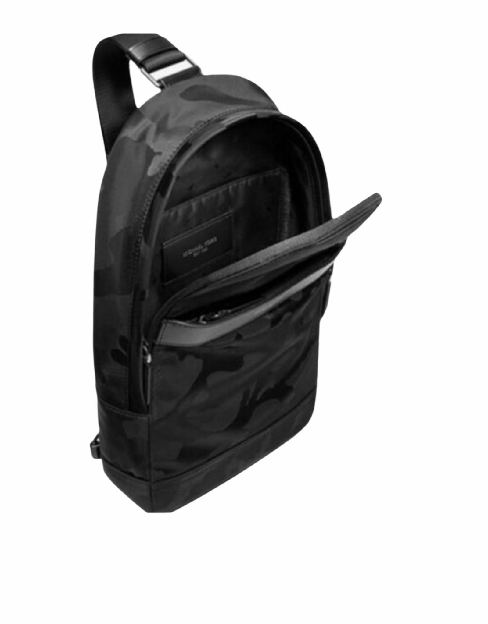 Michael Kors MK Black Kent Sling Bag