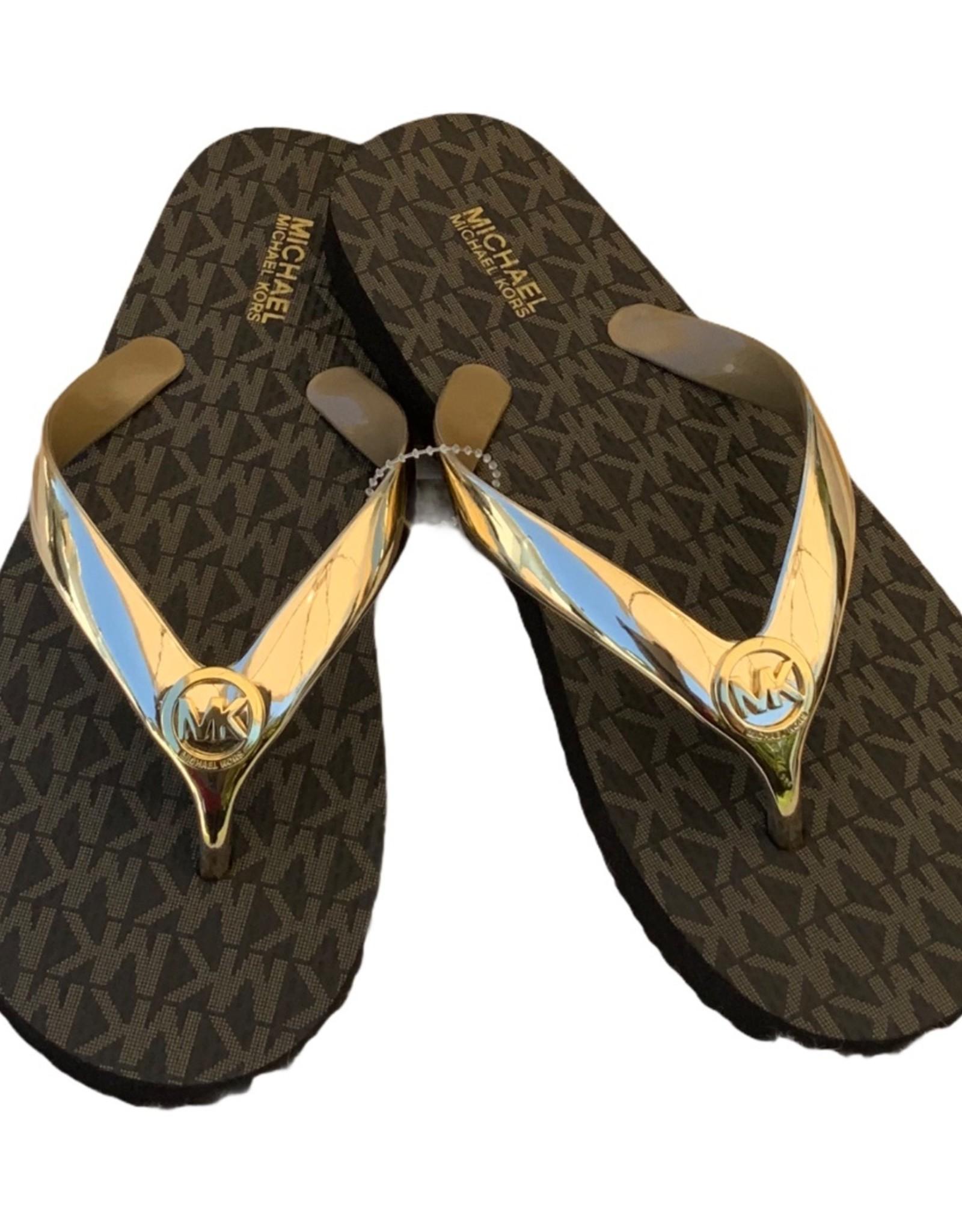 Michael Kors Michael Kors Flip-flops  Metallic PVC