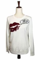 DKNY DKNY  Sweater Crew Neck Kiss Lips