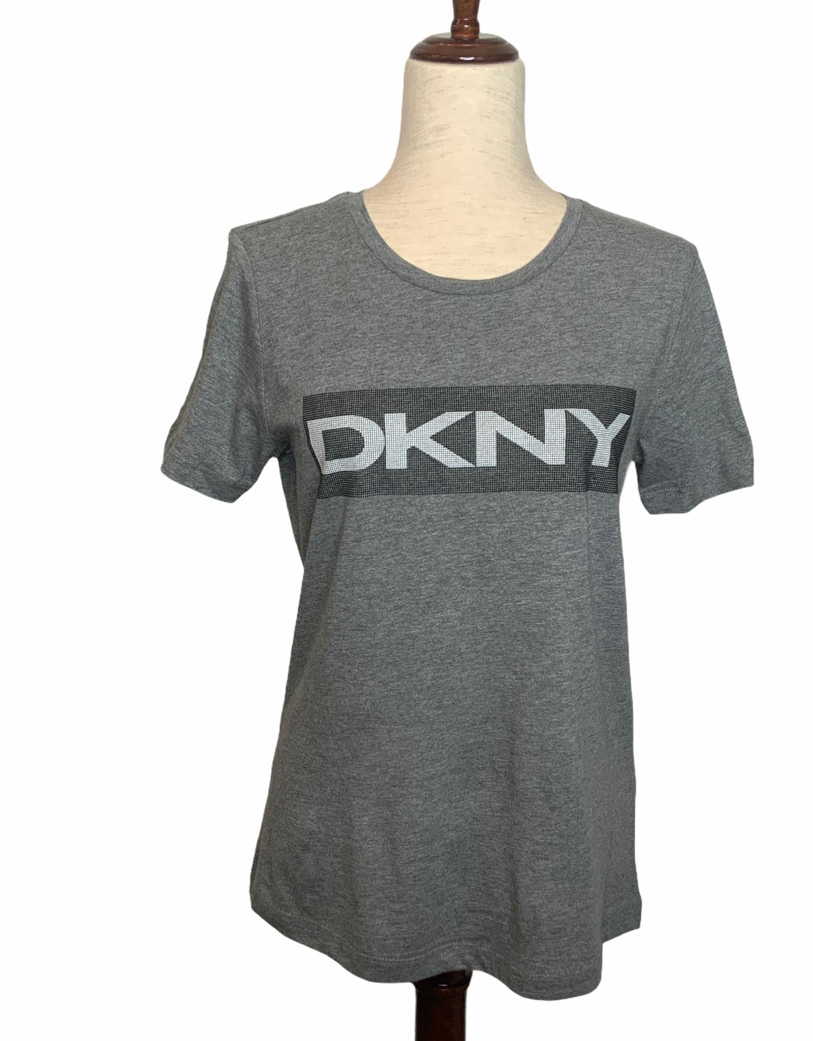 DKNY DKNY Tee Logo Caviar Beaded