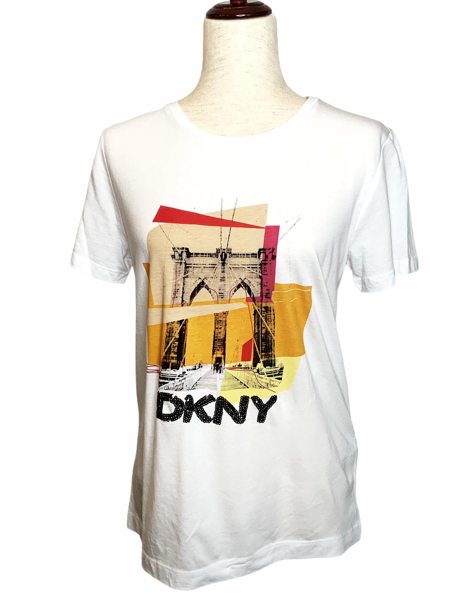 DKNY DKNY Tee Brooklyn Bridge Colorblock