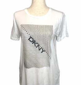 DKNY DKNY Tee Logo Tribal Stripe