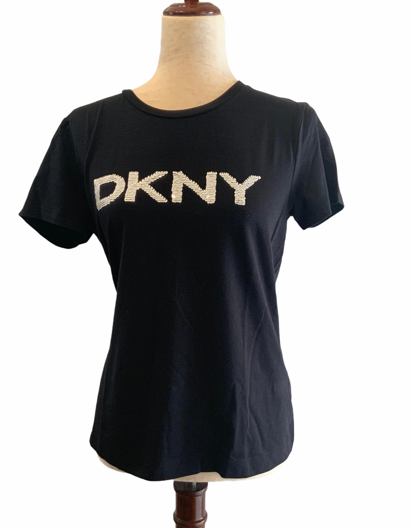 DKNY DKNY Tee Reverse Sequin Logo Pomadona
