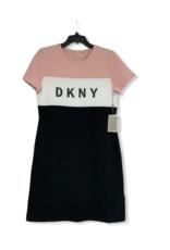 DKNY DKNY Shirt Dress Colorblock Logo