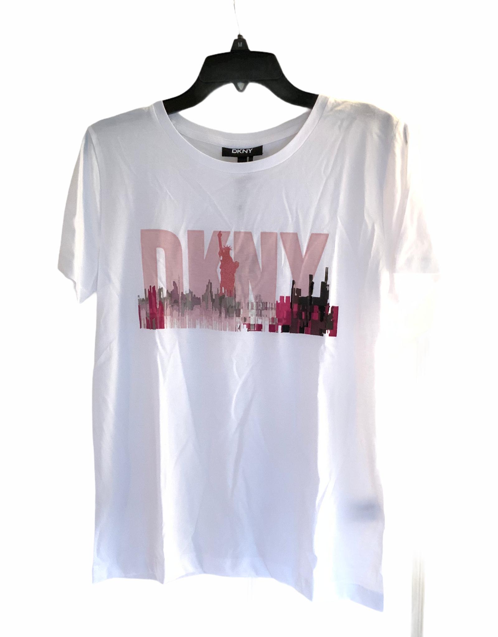 DKNY DKNY Tee Glitter Lady Liberty Skyline