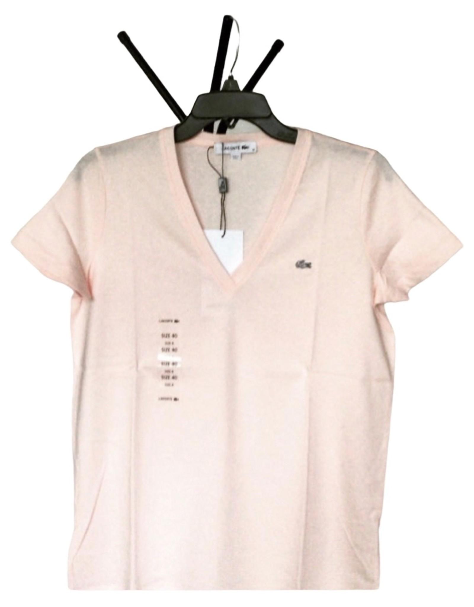 Lacoste Lacoste T-Shirt V-Neck Premium Cotton
