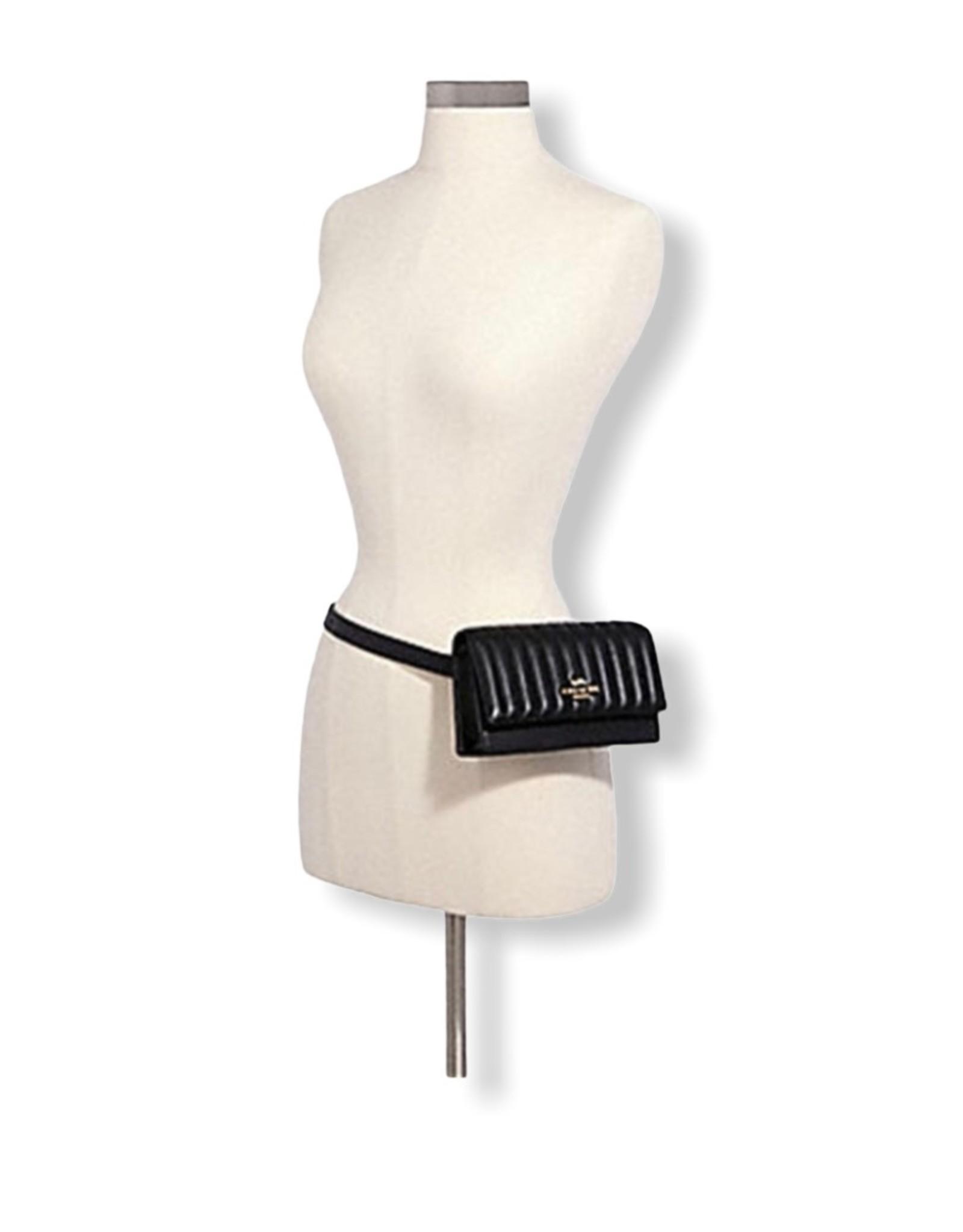 Coach Coach Mini Crossbody Linear Quilt Flap