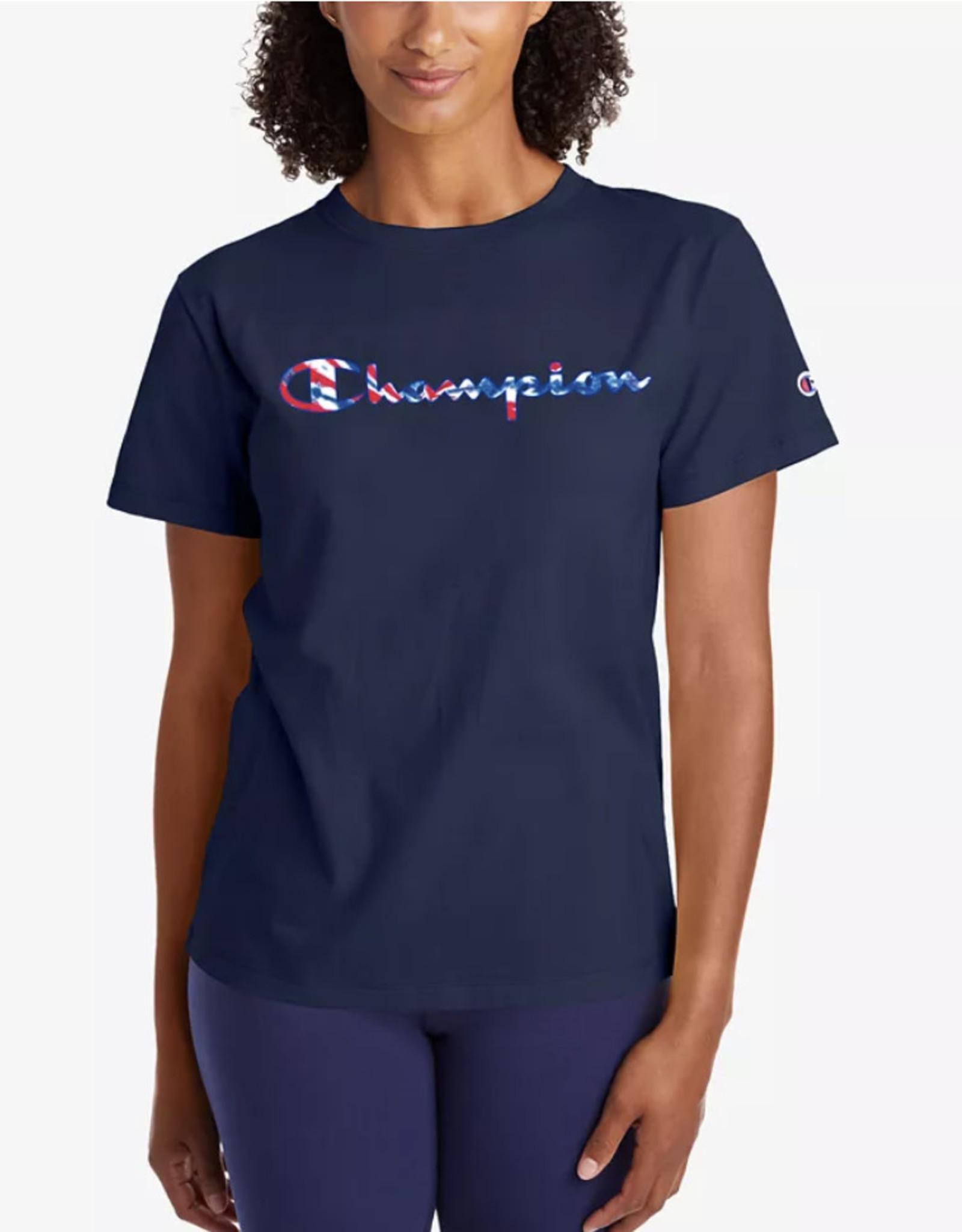 Champion Champion Classic Americana Logo T-Shirt