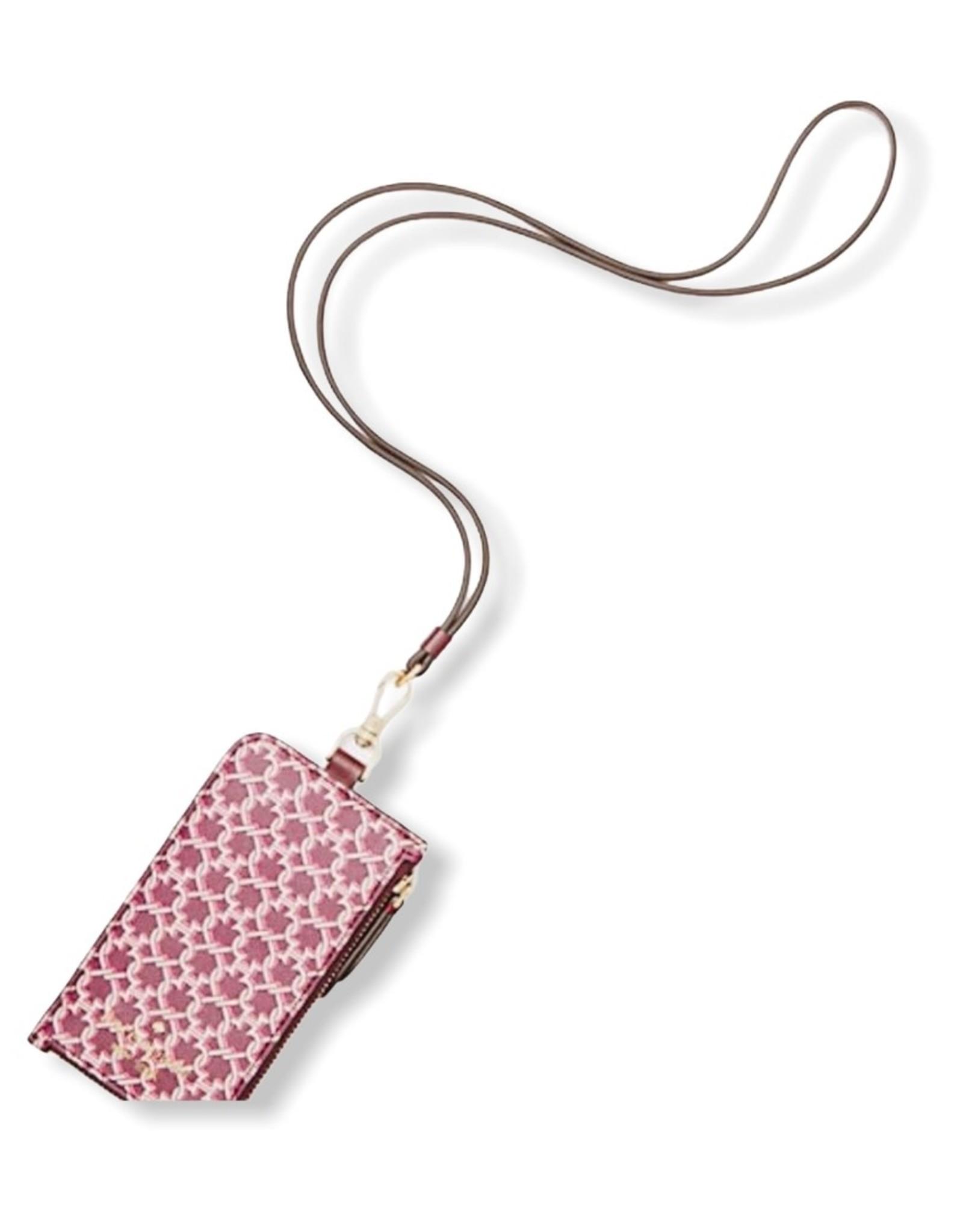 Kate Spade Kate Spade Spade Link Card Case Lanyard