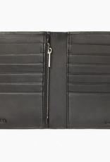 Calvin Klein Calvin Klein Saffiano Leather Logo Wallet + Luggage Tag