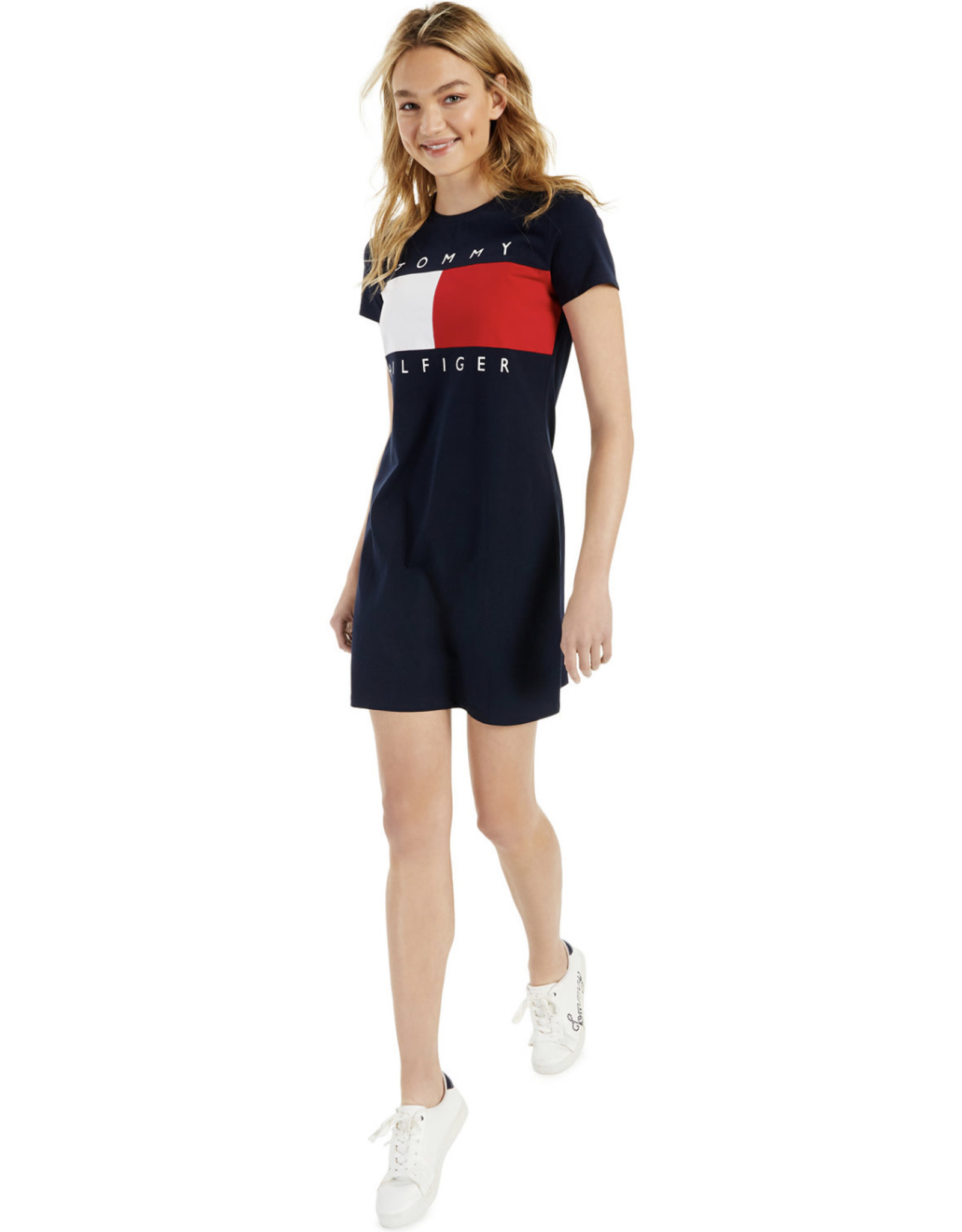Tommy Hilfiger Tommy Hilfiger Logo T-Shirt Dress