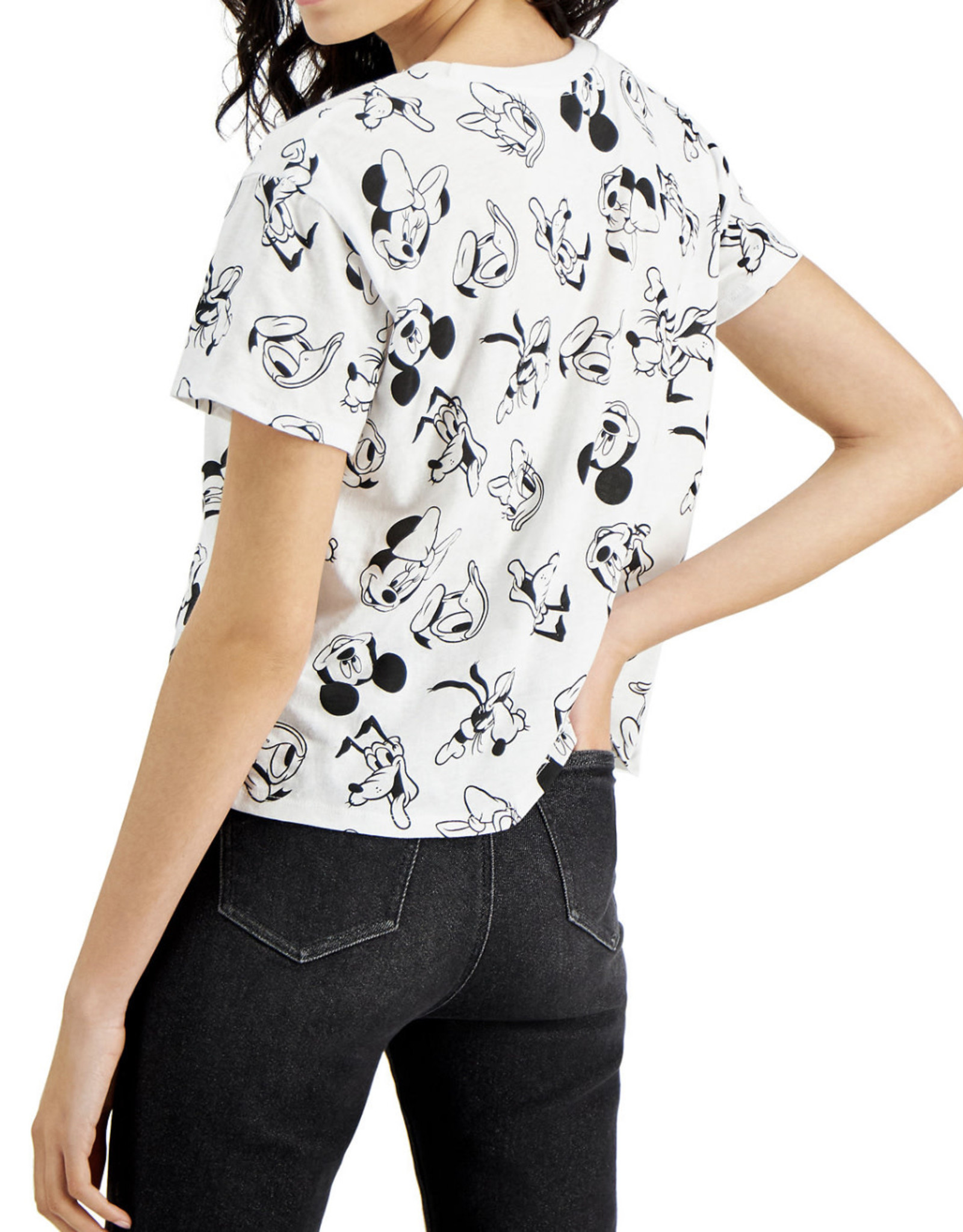 Disney Disney Mickey Mouse Cropped Graphic T-Shirt