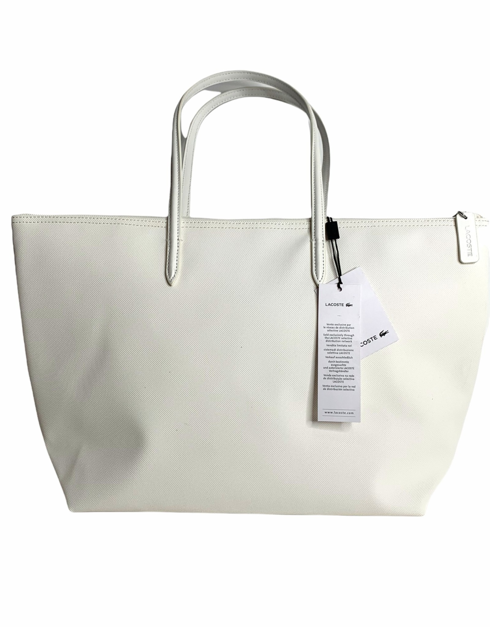 Lacoste Lacoste Stripes Mariniere L Shopping Bag Polyvinyl Chloride