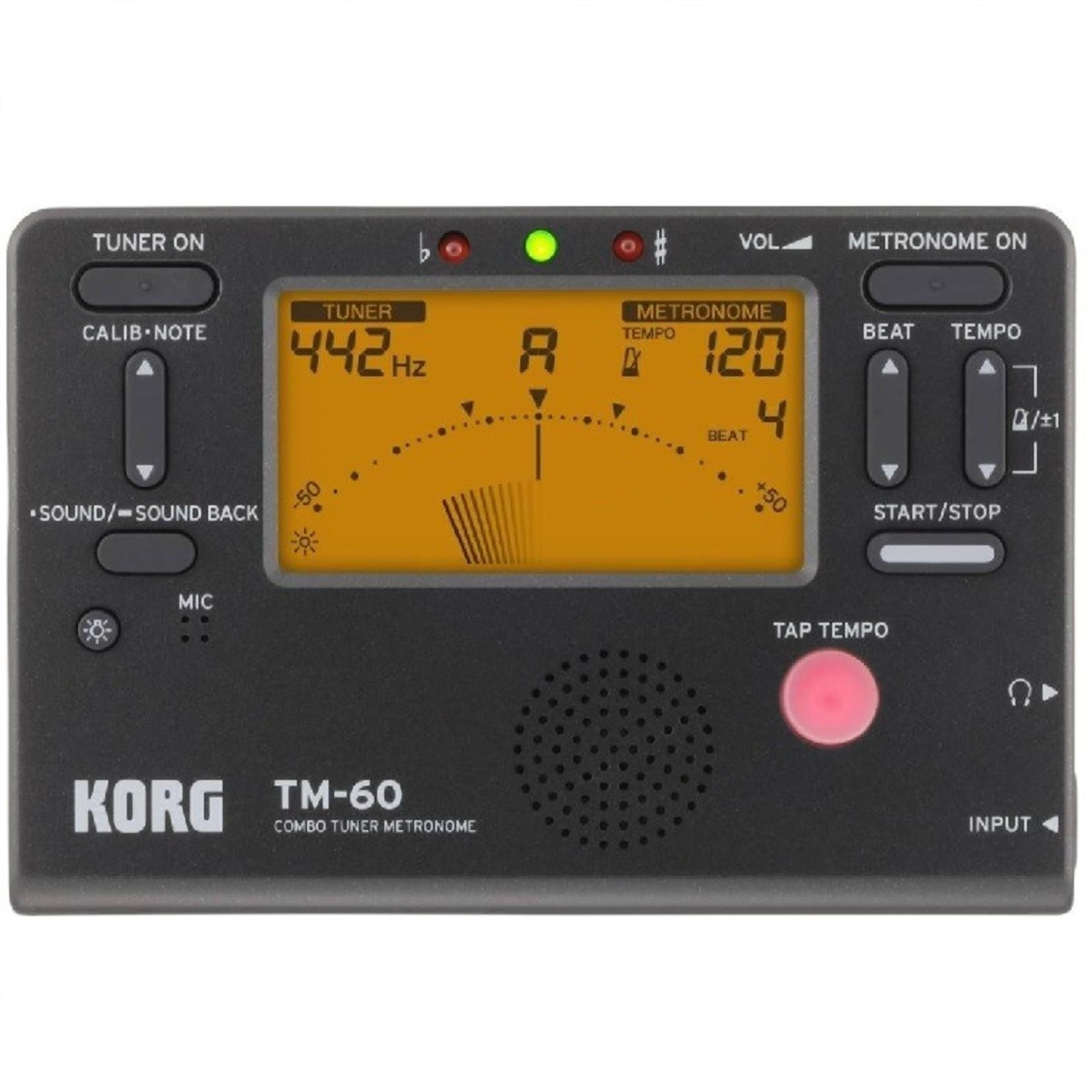 Accordeur/Métronome Korg TM-60
