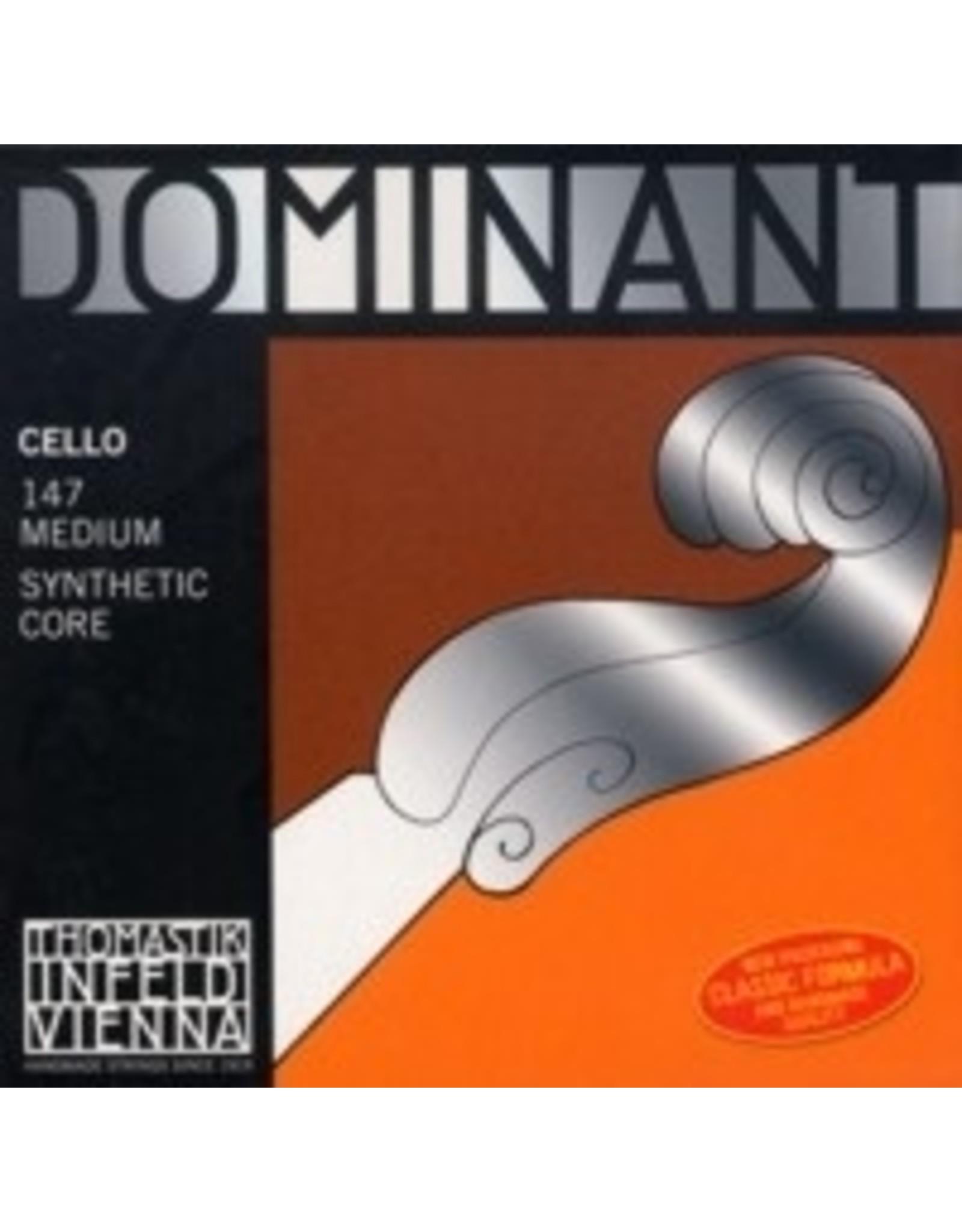 Corde Violoncelle JEU Dominant (Chrome)