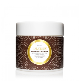 LALICIOUS Sugar Coconut Sugar Scrub (16 oz)