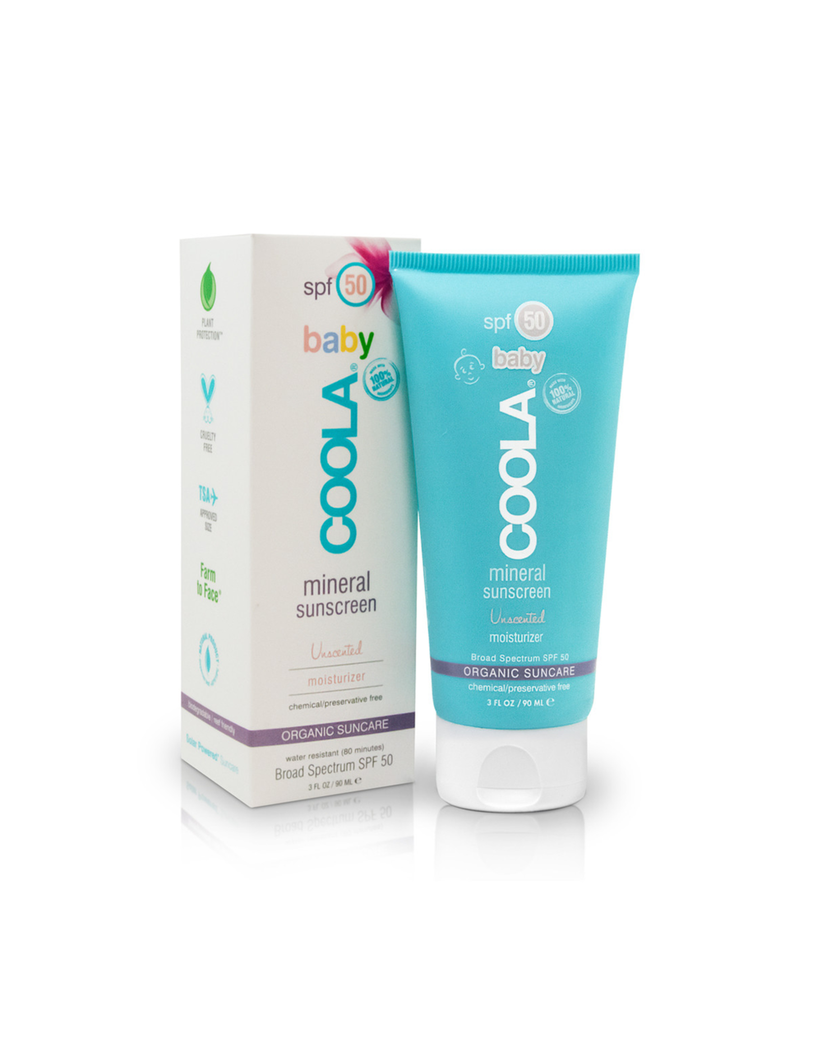 COOLA Mineral Baby SPF 50 Unscented (90 ml)