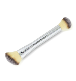 FITGLOW Vegan Teddy Double Cheek Brush
