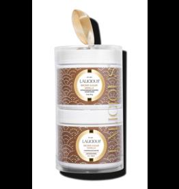 LALICIOUS Brown Sugar Vanilla Tower - Sugar Scrub + Body Butter (2 x 2 oz)