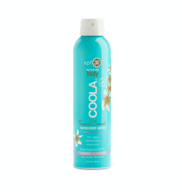 COOLA Body SPF 30 - Tropical Coconut Sunscreen Spray (236 ml)