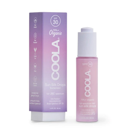 COOLA NEW! Full Spectrum 360° Sun Silk Drops Organic Sunscreen SPF 30 (30 ml)
