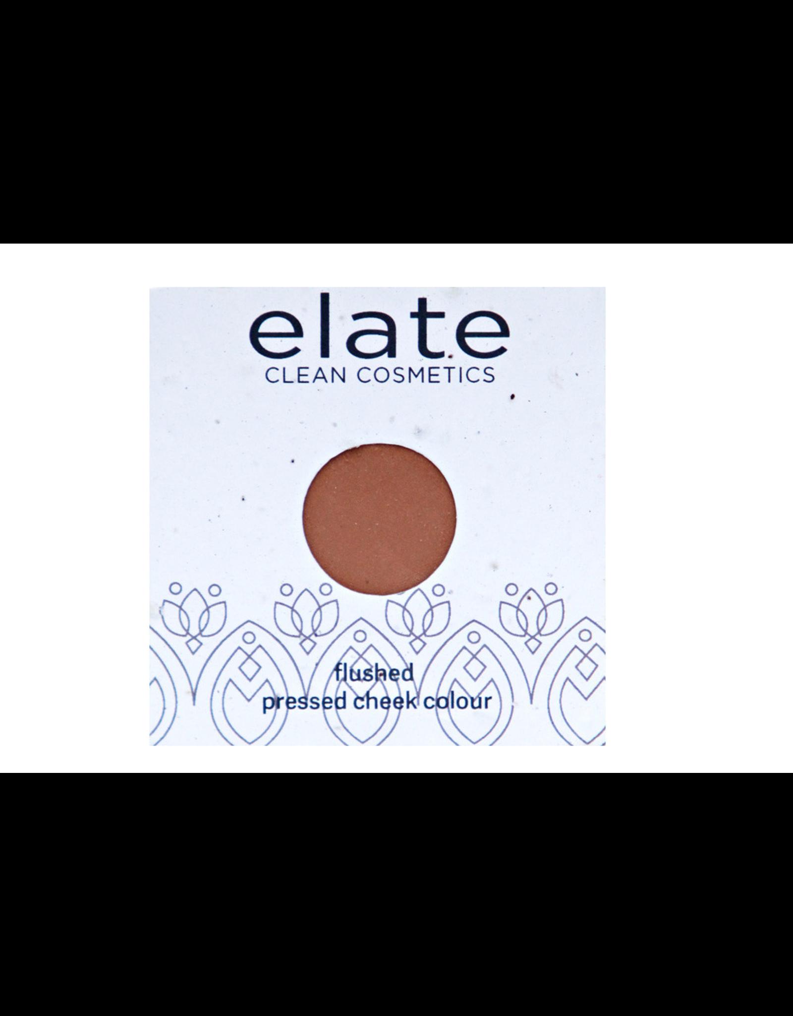 ELATE Flushed Pressed Cheek Colour (Blush & Bronzer) - Sunbeam