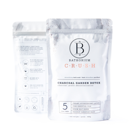 BATHORIUM Charcoal Garden Detox - CRUSH (600 g)