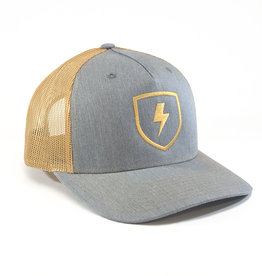 Shield Five Panel Trucker Hat