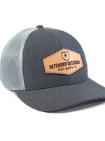 Leather Patch Trucker Hat