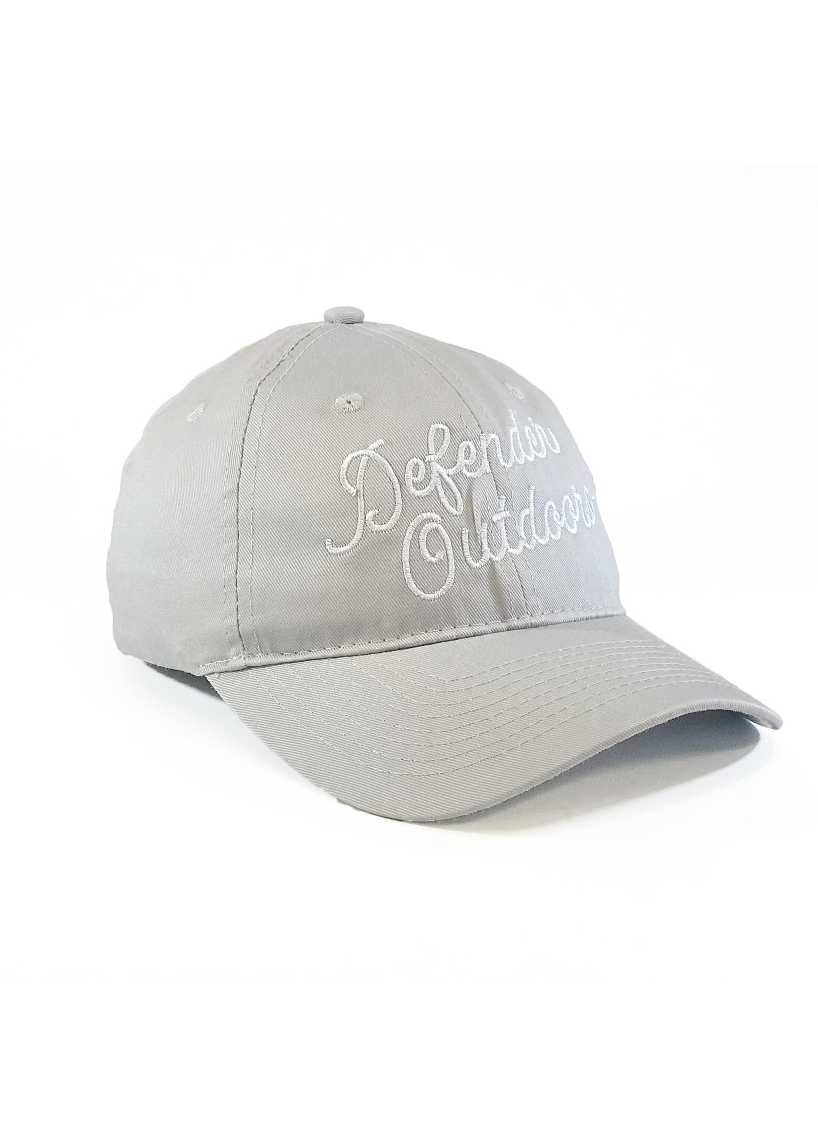 Defender Outdoors Twill Script Hat