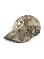 Kryptek Highlander US Flag Hat