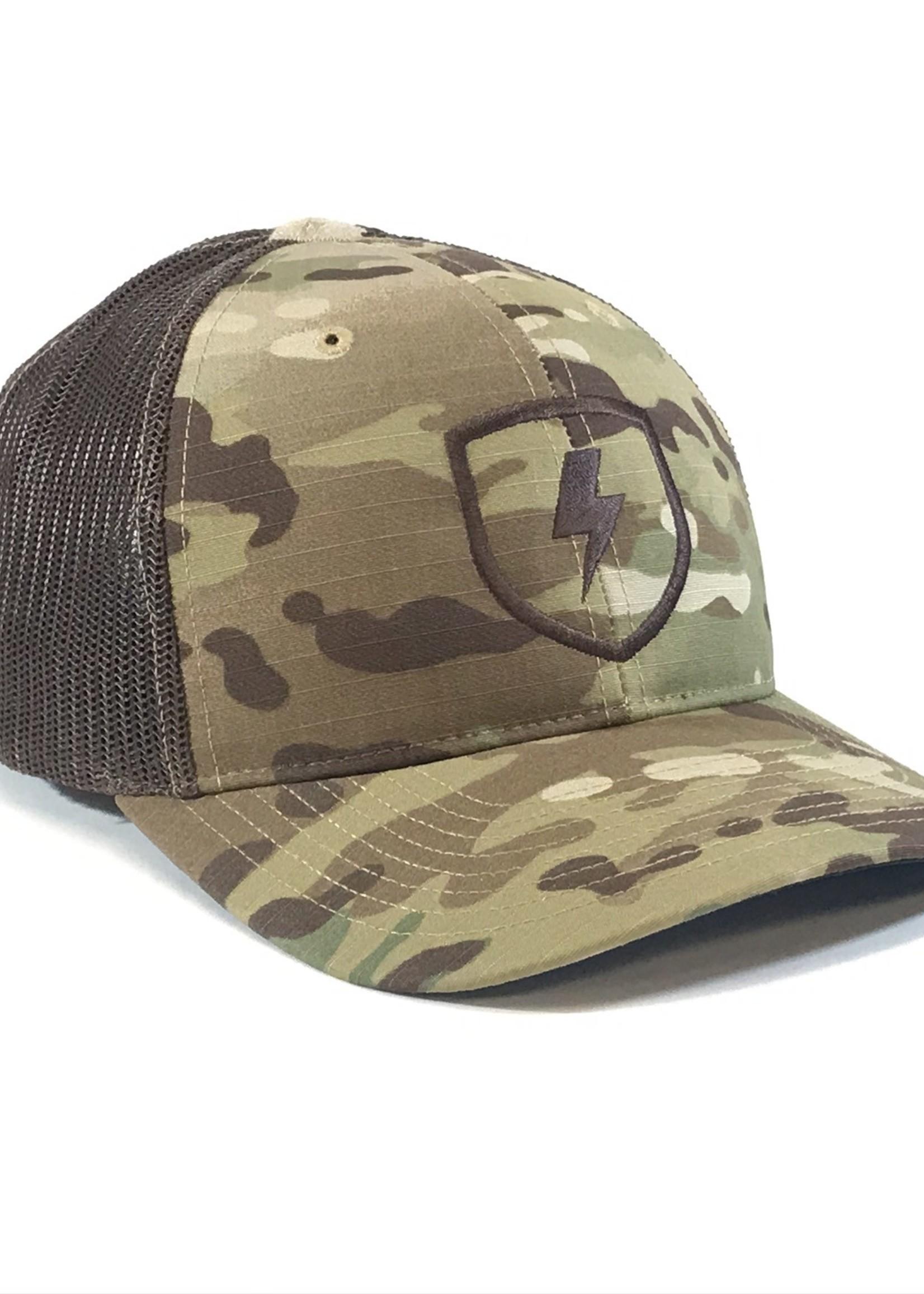 Defender Outdoors Shield Multicam Trucker Hat