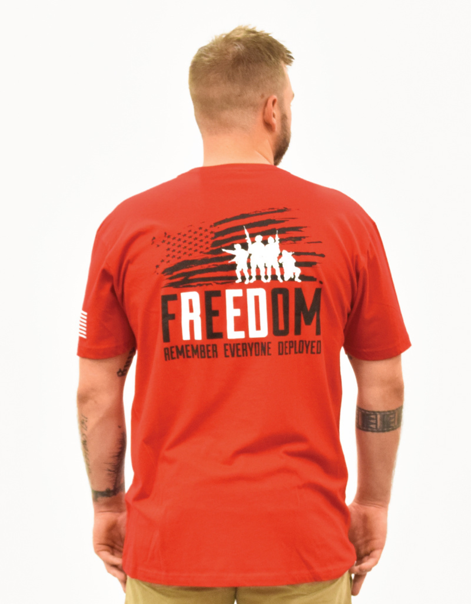 R.E.D. Remember Everyone Deployed T-Shirt
