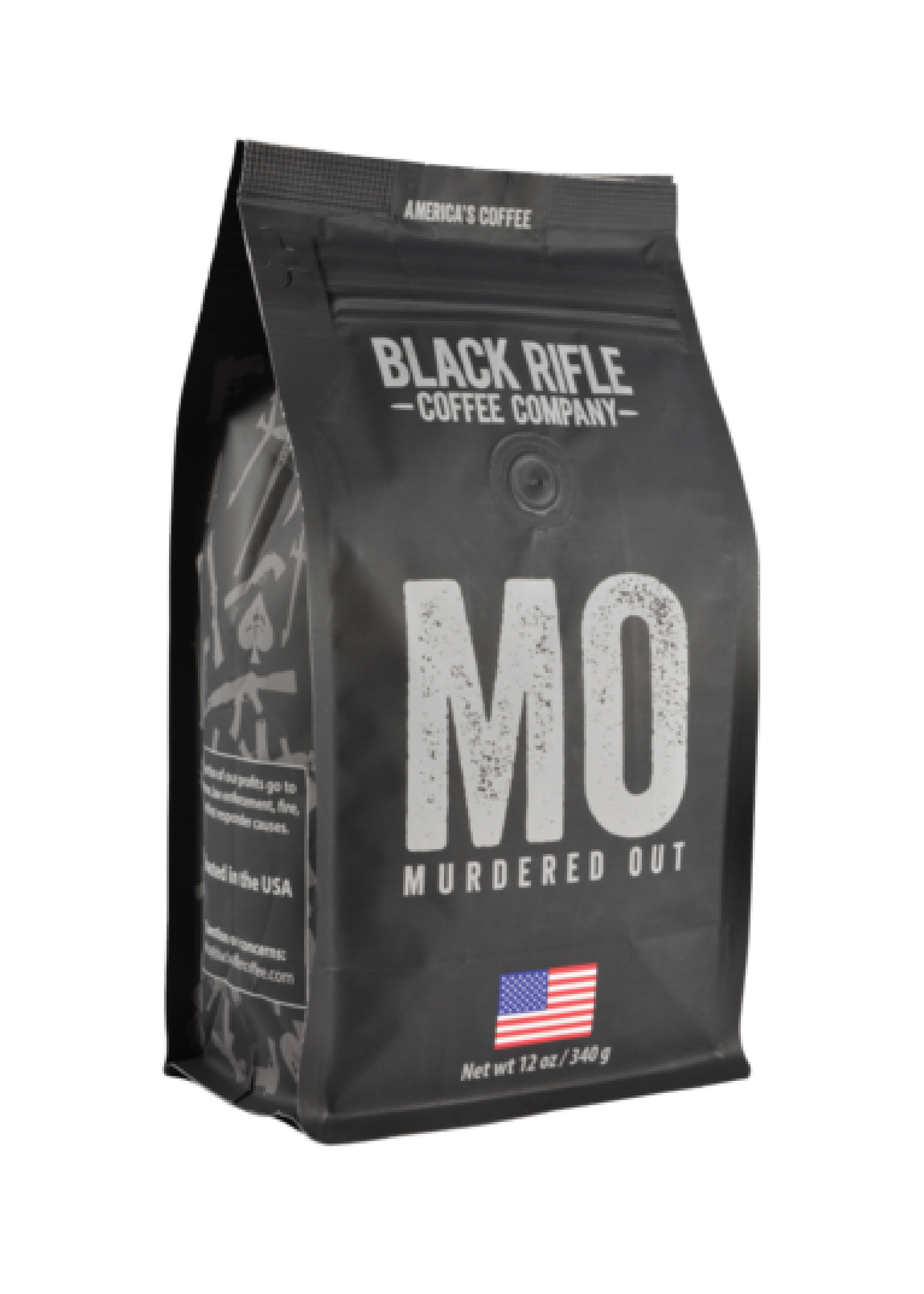 Black Rifle Coffee Company Black Rifle Coffee Company Murdered Out Coffee Roast Whole Bean