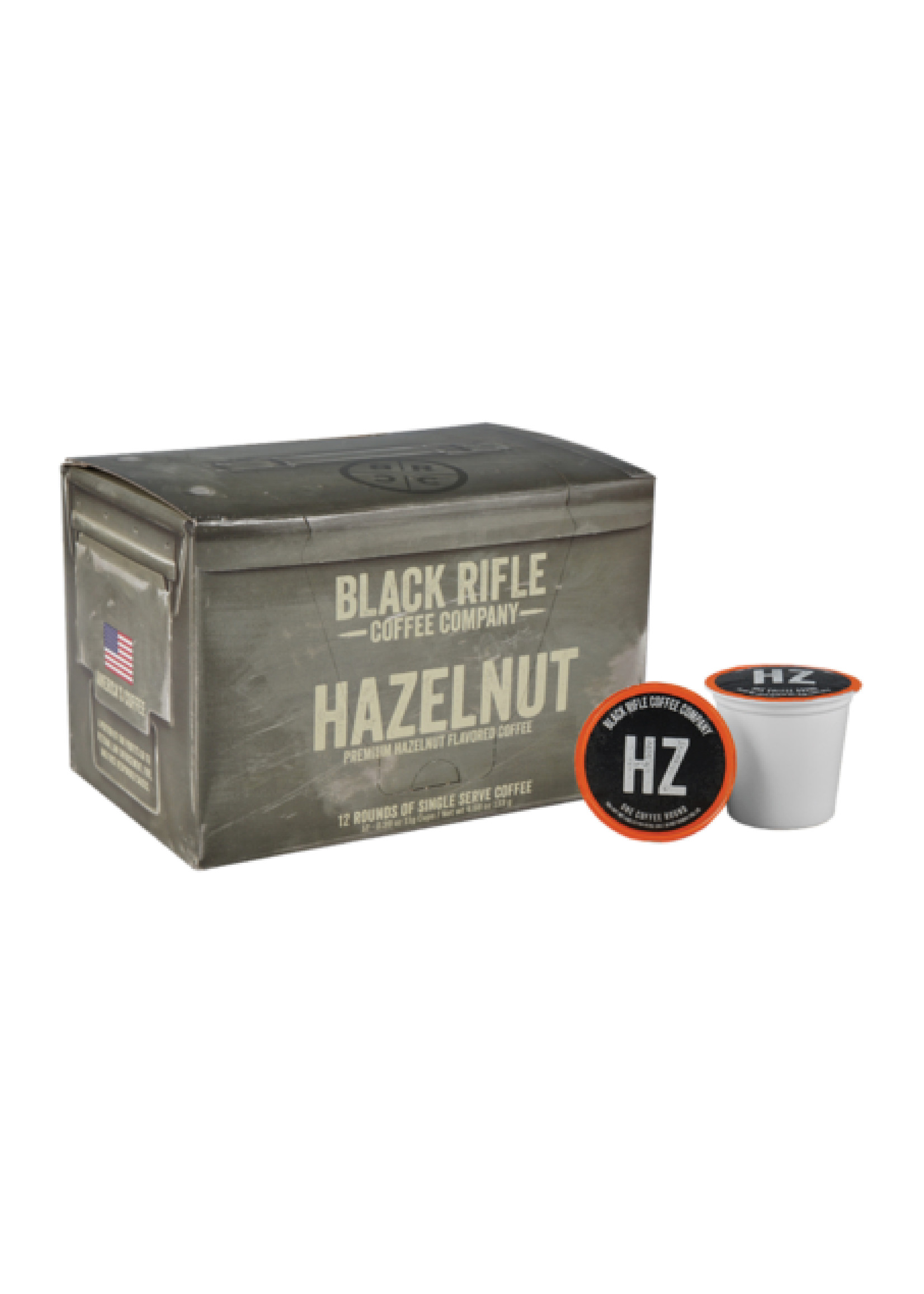 Black Rifle Coffee Company Black Rifle Coffee Company Hazelnut Coffee Rounds 12ct