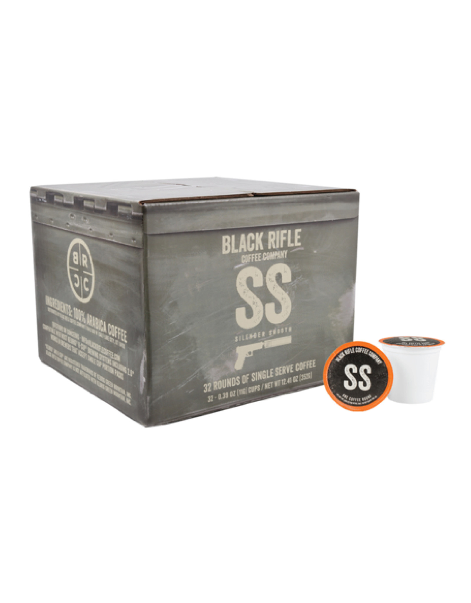 Black Rifle Coffee Company Black Rifle Coffee Company Silencer Smooth Coffee Rounds 32ct