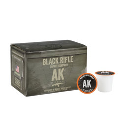 Black Rifle Coffee Company AK-47 Espresso Blend Coffee Rounds