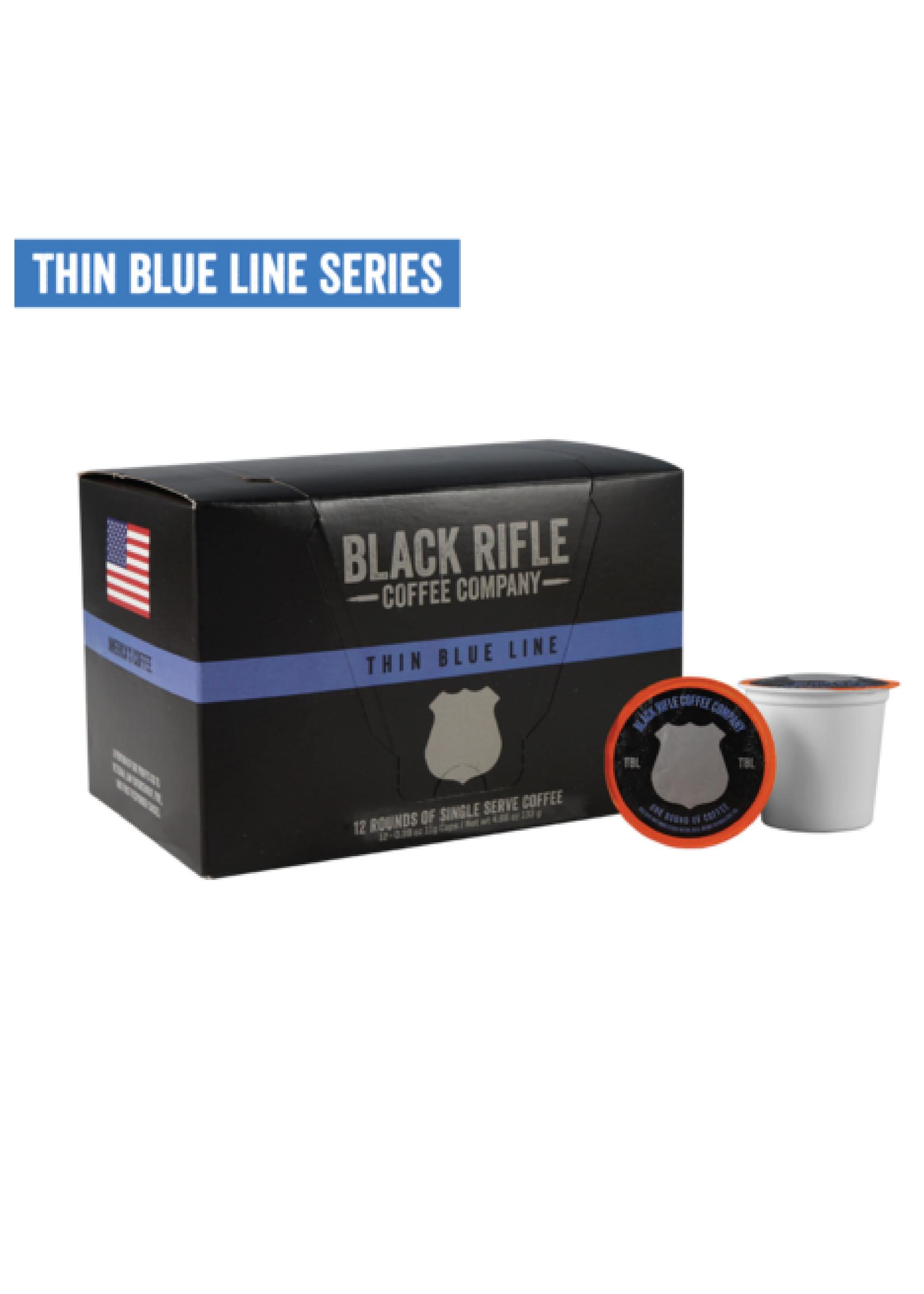 Black Rifle Coffee Company Black Rifle Coffee Company Thin Blue Line Coffee Rounds 12ct