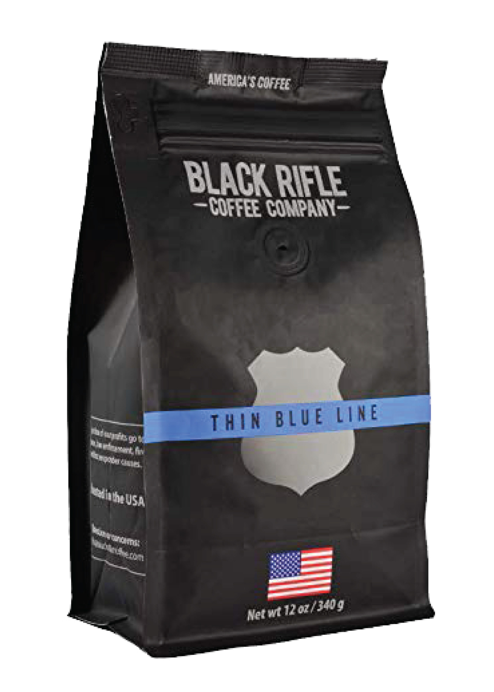 Black Rifle Coffee Company Black Rifle Coffee Company Thin Blue Line Coffee Roast Ground