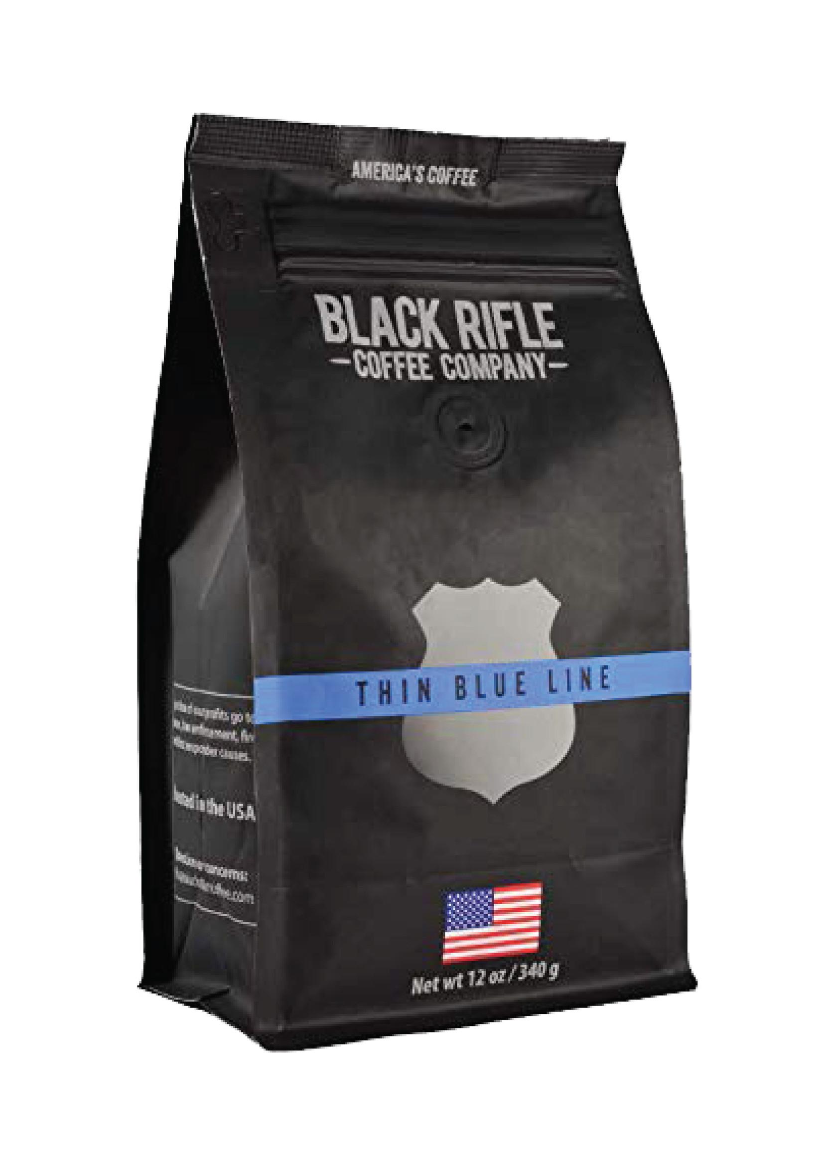 Black Rifle Coffee Company Black Rifle Coffee Company Thin Blue Line Coffee Roast Ground
