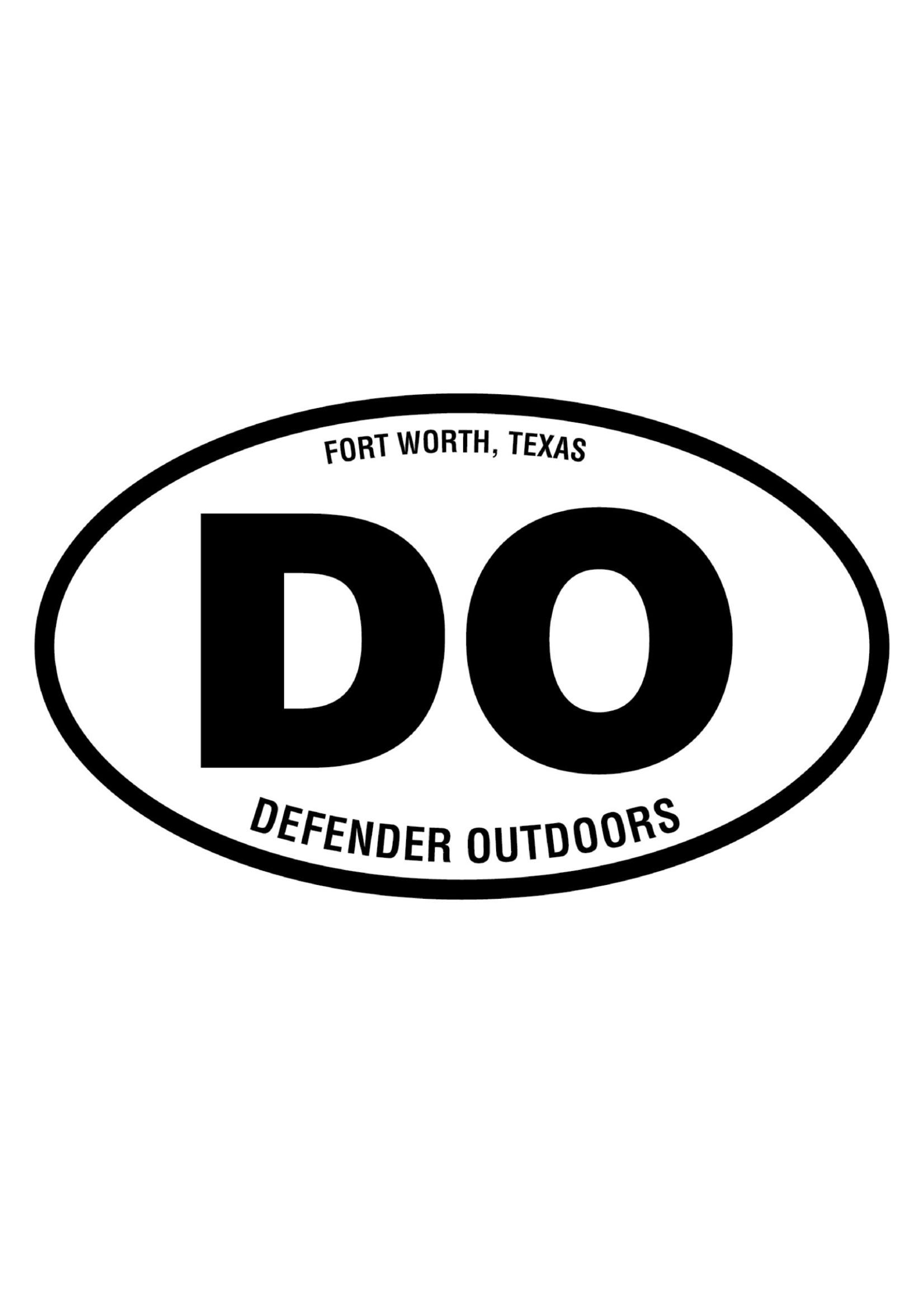 Defender Outdoors Sticker