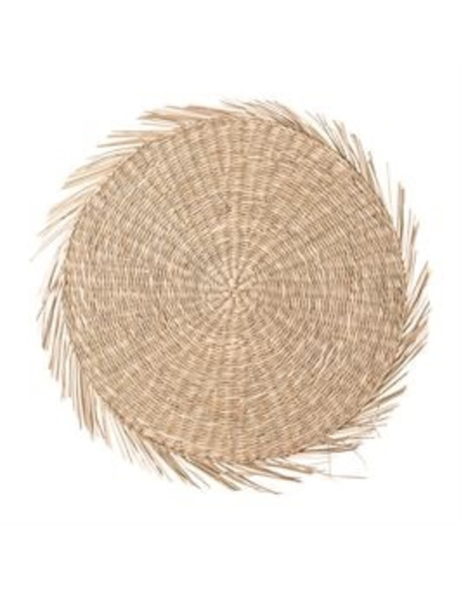 "Bloomingville 15"" Round Seagrass Placemat"